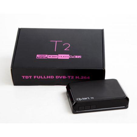 Récepteur TDT QVIART T2 DVB-T2 H.264