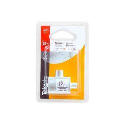 Atténuateur 25 dB connectique 9.52 (Enfichable) Televes