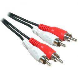Câble audio RCA mâle à mâle 5 mètres