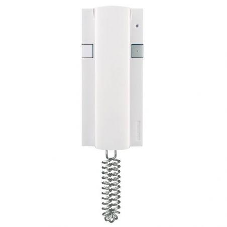 Kit portero telefonillo idealkit5 con teléfono interior STYLE y placa exterior empotrable o de superficie