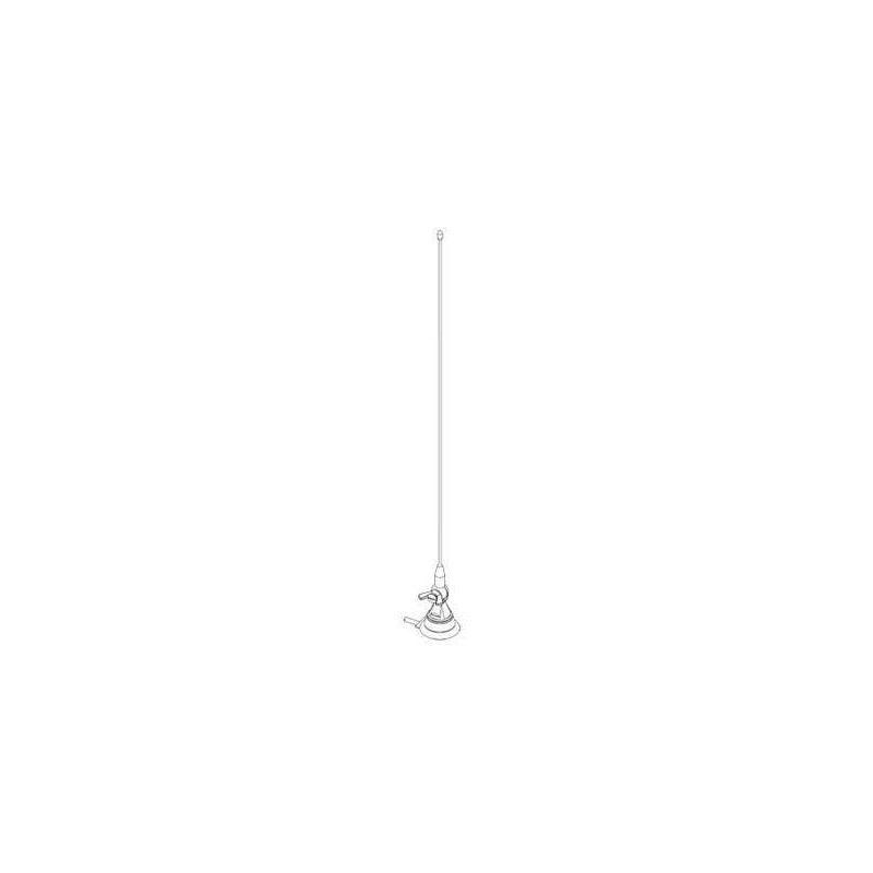 Antena de telecomunicações móvel 1/4 onda VHF 144...470MHz Televes