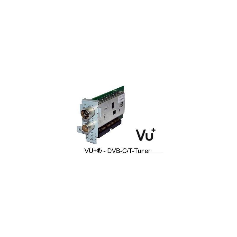 Tuner DVB-T/C Hibrido Terrestre y Cable Alta Definicion para Vu+ Uno y Ultimo