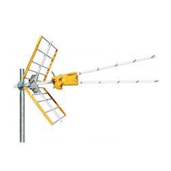 Antena VZENIT UHF (C21-58/59/60 configurable) Embalaje colectivo Televes