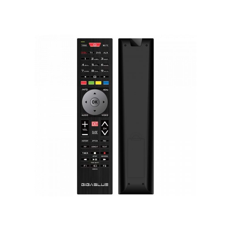 Remote control for Gigablue UE / SE / Plus