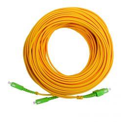 Pre-terminated optical fibre double patch cord 10m SC/APC Televes