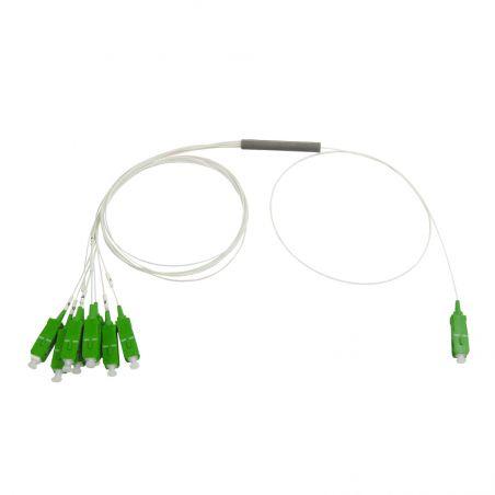 Séparateur optique SC/APC 8 sorties 1260-1650nm 10dB Televes
