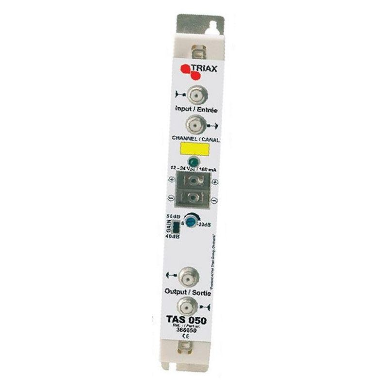 Amplificador 2 SAT Triax 40 dB 2 salidas
