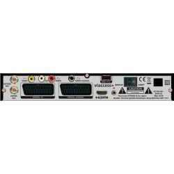Receptor satelite Visiosat TVS 7600 TNT Sat France Astra 4 años Envio Gratis