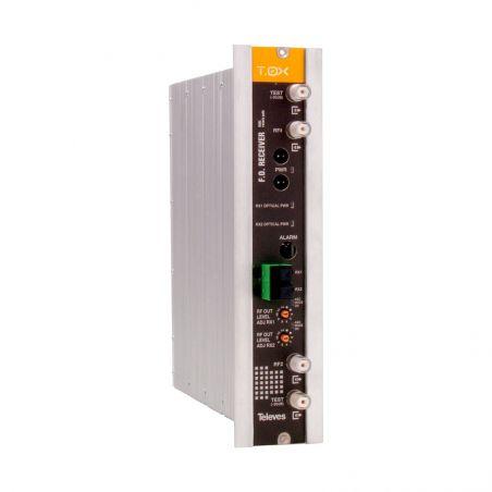 Récepteur optique pour voie retour, avec CAG 1270-1650nm Televes