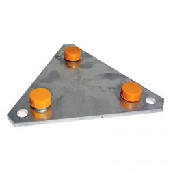 Base fixe pour vissage/encastrement série 180 Televes