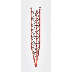 Partie inférieure inclinable Zinc + Peinture Rouge tourelle 3m série 550 Televes