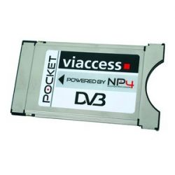 VIACCES CAM PCMCIA Pocket Viaccess NP4 MPEG4 HDTV