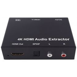 HDMI Audio Extractor 4k to...