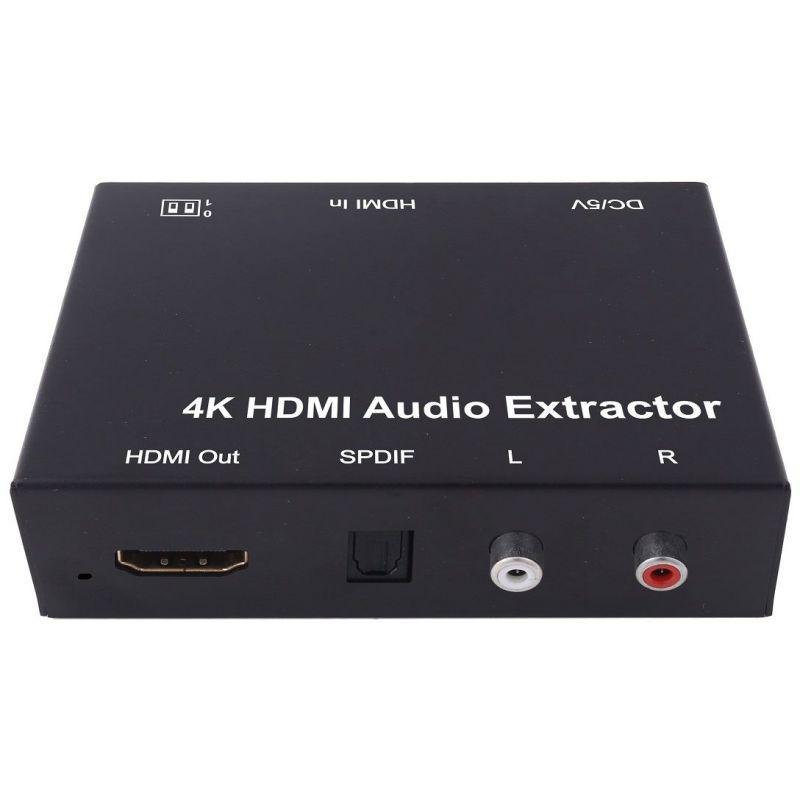 Extractor Áudio HDMI para RCA/SPDIF/HDMI