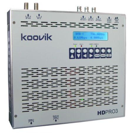 HDPro3 encoder HDMI y modulador COFDM DVB-T 1080p Gigabit