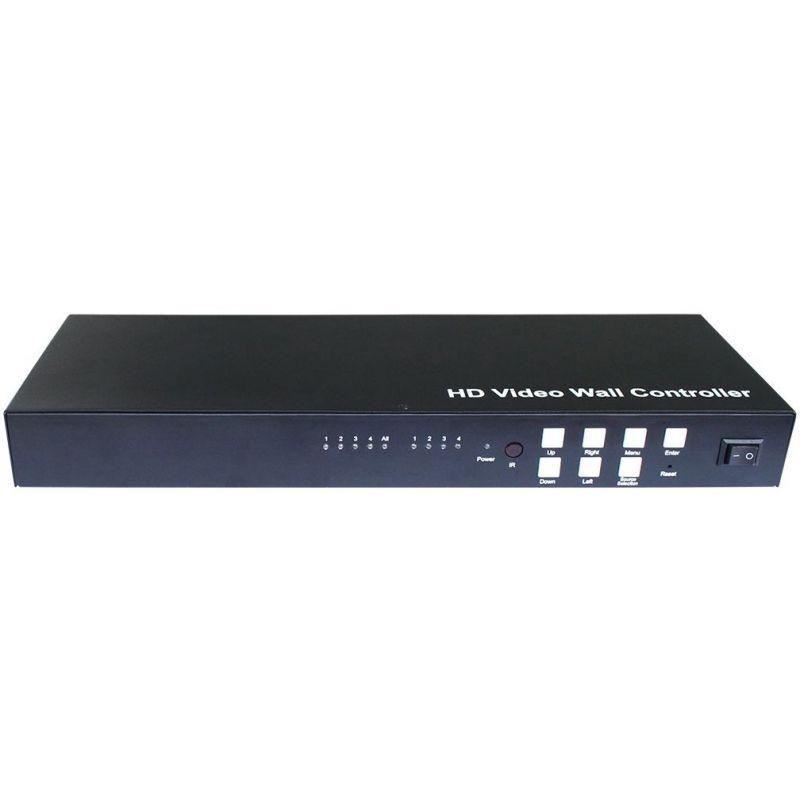 Video Wall FullHD 1x4 1080p FullHD 2x2