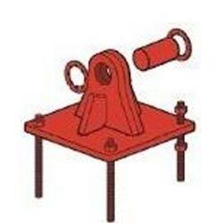 Base affleurante affleurante G.C + Peinture Rouge tourelle série 550 XL Televes