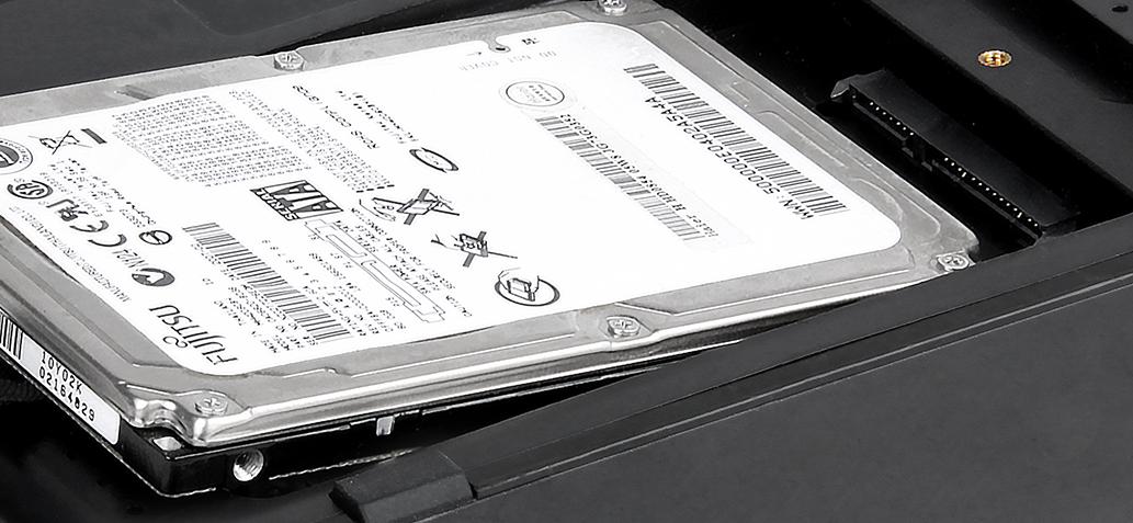 Internal 2.5″ SATA HDD
